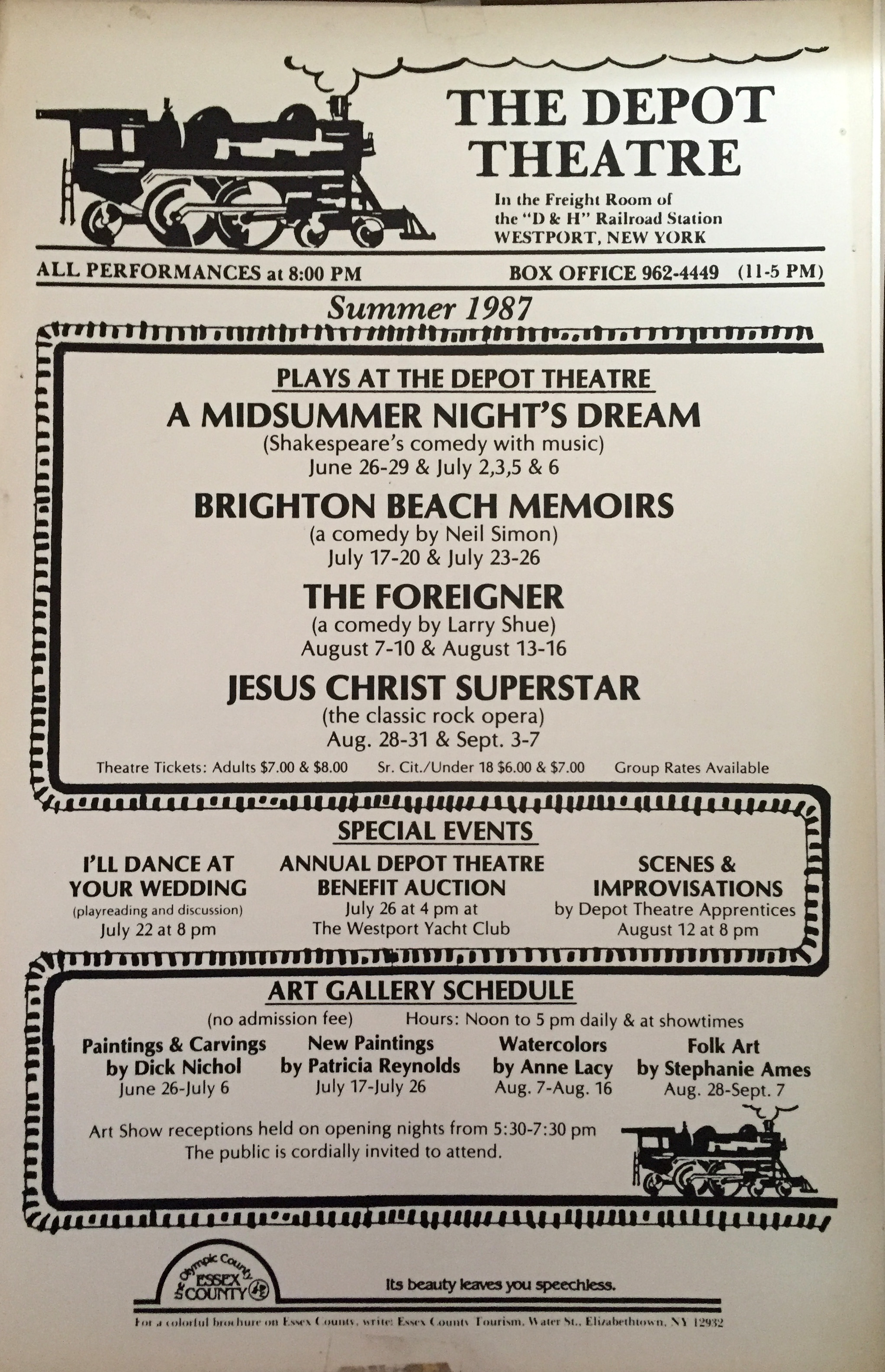 The Depot Theatre | 1987poster