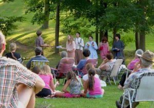 Depot Theatre Shakespeare in the Park Program