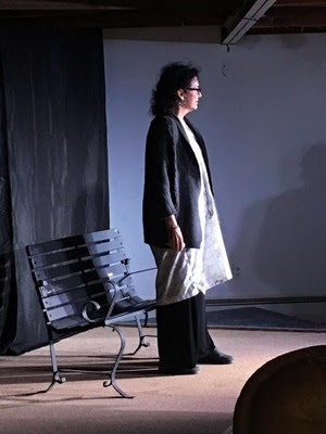 Annie Scavo as Rose in Joe DiPietro's The Last Romance (An Adirondack Stage Rats Production at the Depot Theatre)