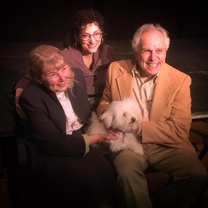 Kathleen Recchia, Annie Scavo, and Jordan Hornstein in Joe DiPietro's The Last Romance (An Adirondack Stage Rats Production at the Depot Theatre)